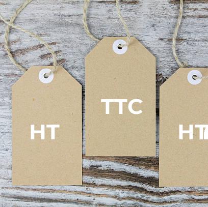 Affichage des prix HT – TTC